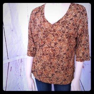 🔥Lane Bryant 14/15 Fall blouse